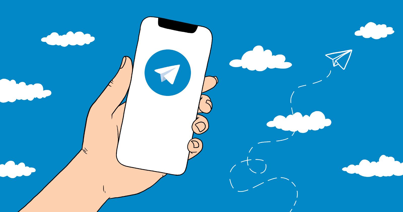 Получаем трафик из Telegram
