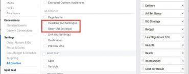 Facebook тестирует алгоритм, который самостоятельно определяет лучший рекламный текст