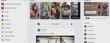 Обновление для десктопной версии Facebook станет доступным в 1 квартале 2020 года