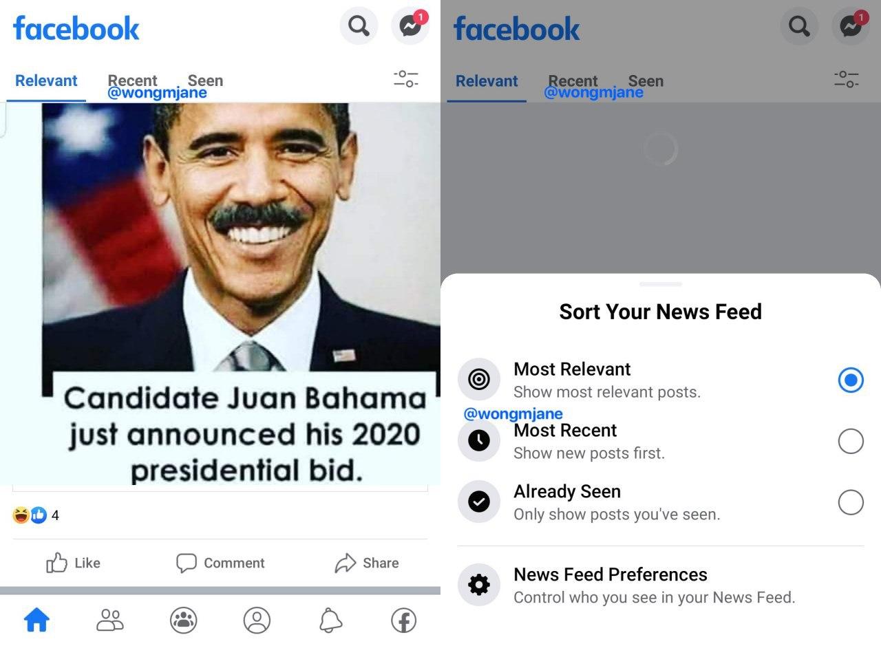Facebook обновит новостную ленту