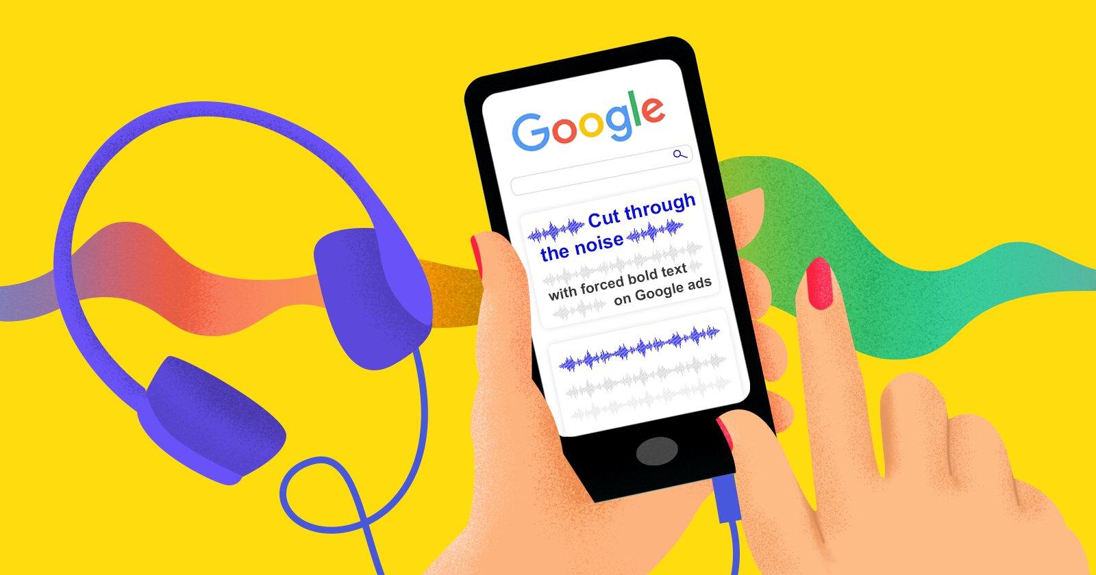 Как выделить жирным шрифтом текст в рекламе Google Search Ads и зачем