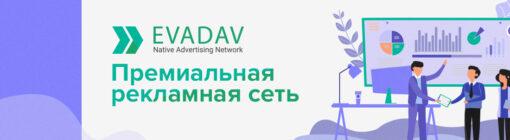 Обзор EvaDav — премиальной рекламной сети с качественным трафиком и лучшим инструментарием на рынке