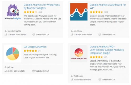 Как установить счетчик Google Analytics на WordPress