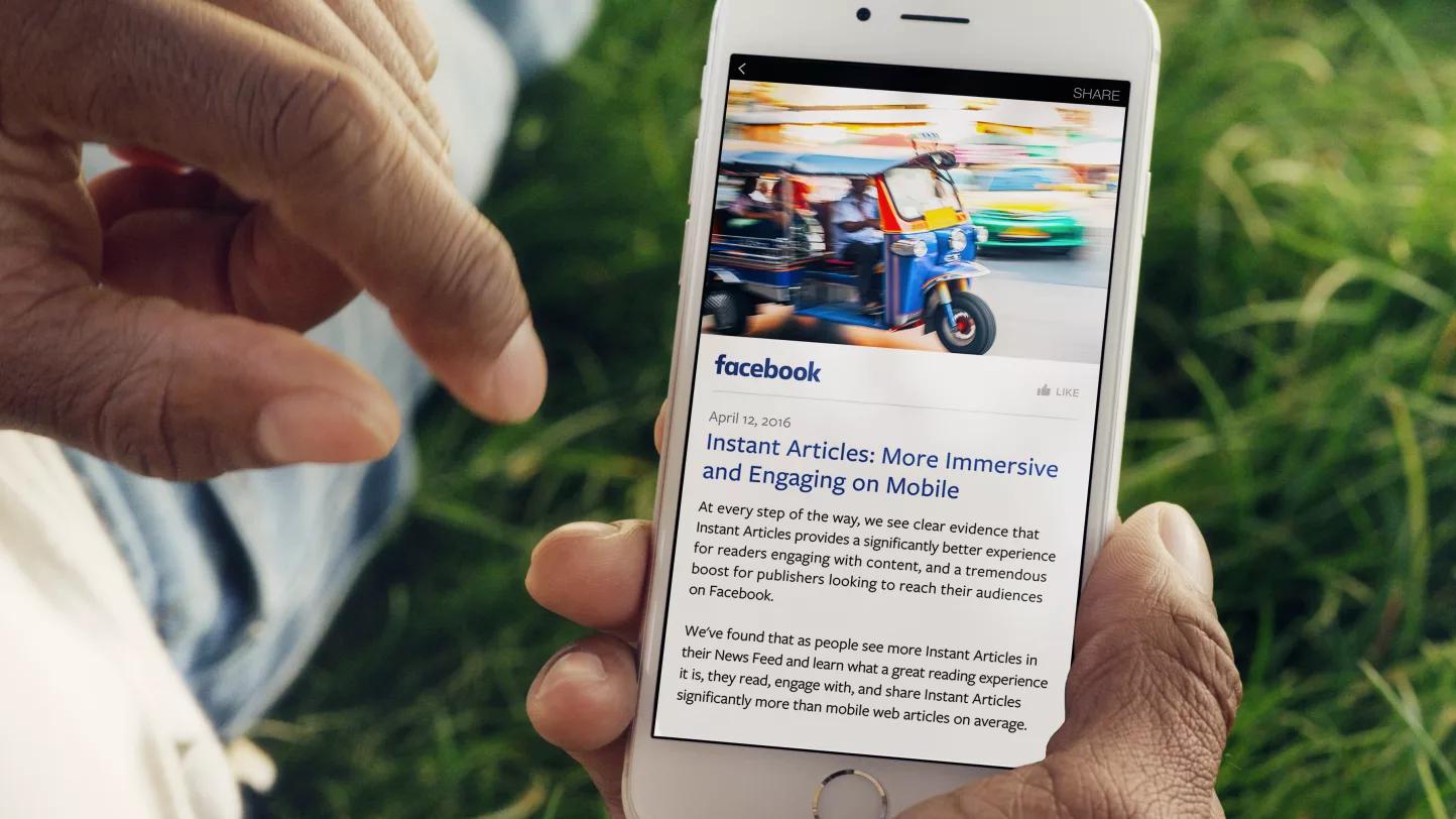 Моментальные статьи на Facebook: что это такое и как их настроить