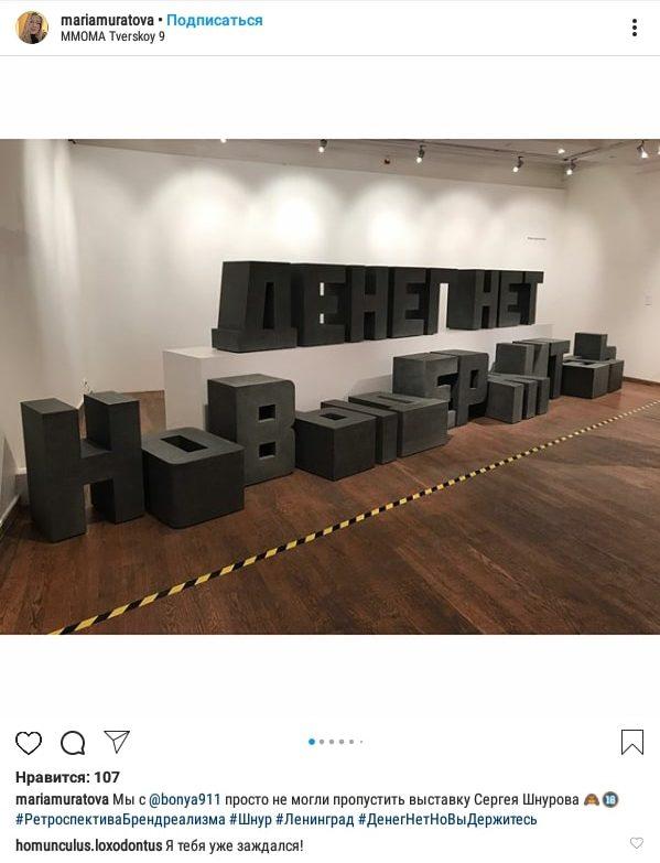 Шнуров Выставка